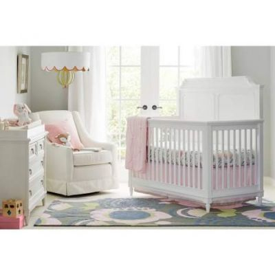 Clementine Court Built To Grow Crib in Frosting - VEN025-537-23-50