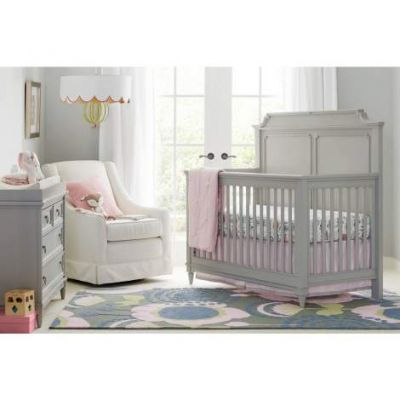 Clementine Court Built To Grow Crib in Spoon - VEN025-537-53-50