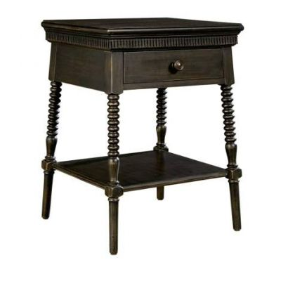 Smiling Hill Bedside Table in Licorice - VEN025-560-83-80