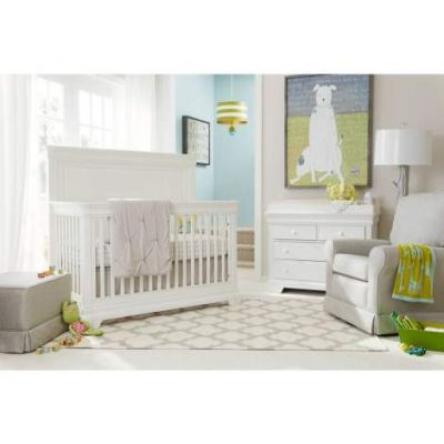 Teaberry Lane Built To Grow Crib in stardust - VEN025-575-23-50