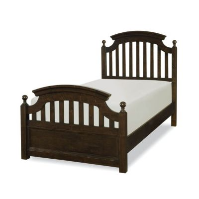 Academy Panel Bed - Twin in Molasses - 5810-4103K