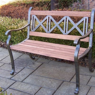 Triple Cross Bench - 6132-AB