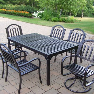 Rochester 7 Piece Dining Set - 6137-3830-6128-7-HB