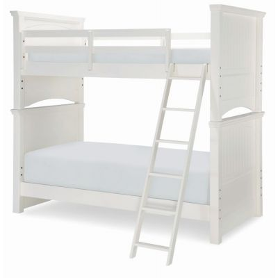 Summerset Twin Over Twin Bunk in Ivory - 6481-8110K