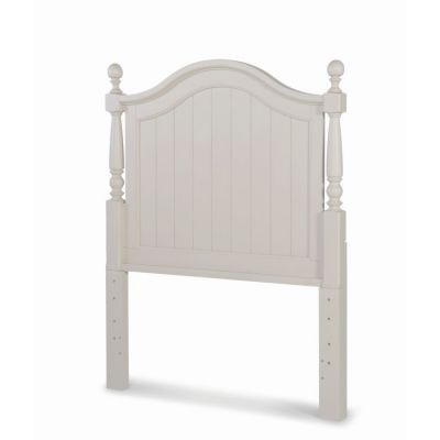 Summerset Low Poster Headboard - Twin in Taupe - 6482-4203