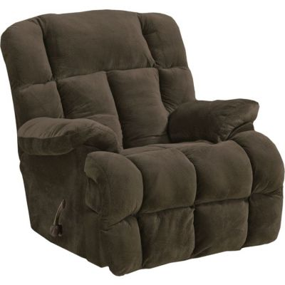 Cloud 12 Chaise Rocker Recliner in Chocolate - 65412233409