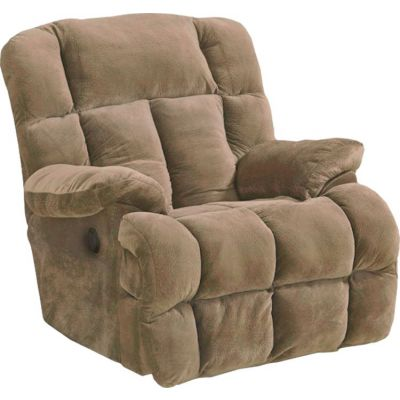 Cloud 12 Power Chaise Recliner in Camel - 65417233436