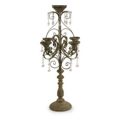 Tracy Candle Chandelier Tabletop - 68032