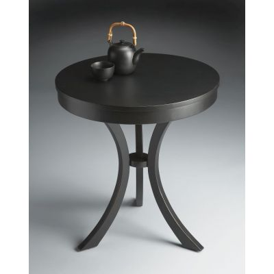 Gerard Black Licorice Side Table - 7007111