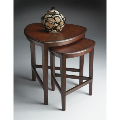 Finnegan Chocolate Nesting Tables - 7010117