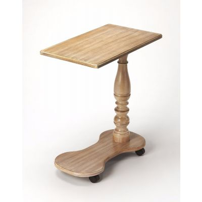 Mabry Driftwood Mobile Tray Table - 7025247