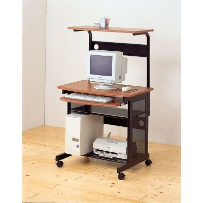Desks Casual Computer Unit with Storage and Casters - 7121