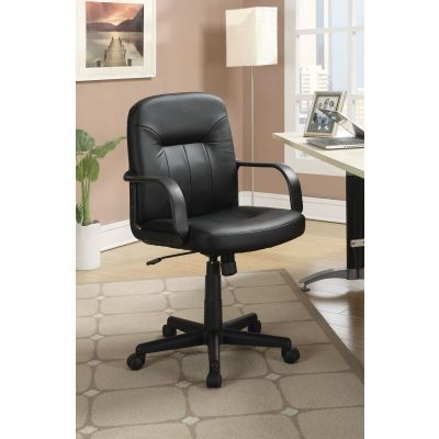 Casual Office Chair in Black - 800049