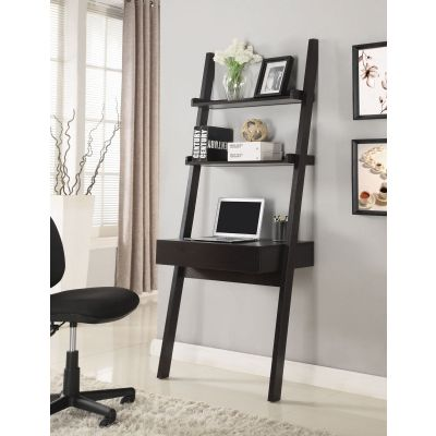 Ladder Desk in Cappuccino - 801373