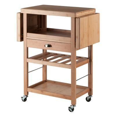Barton Bamboo Kitchen Cart - 80434