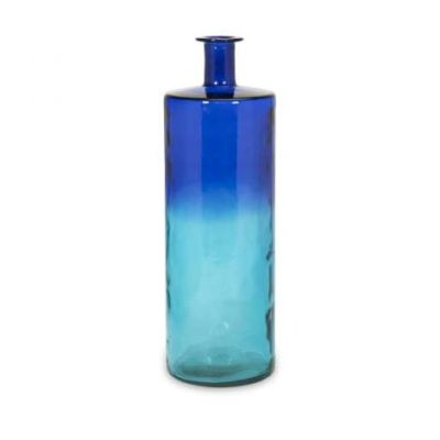 Luzon Tall Oversized Recycled Glass Vase - 84525