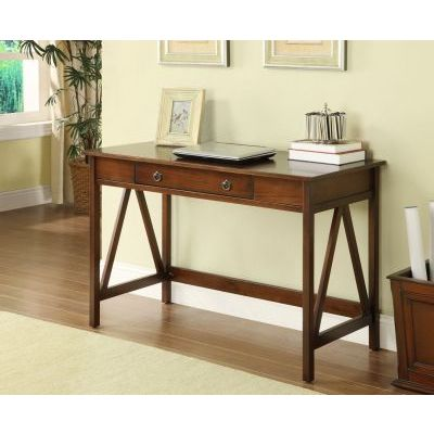 Titian Desk in Antique Tobacco - 86154ATOB-01-KD-U