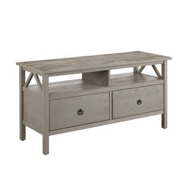 Titian 44' TV Stand in Rustic Gray - 86158GRY01U
