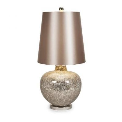 Oversized Mosaic Glass Lamp - 86609