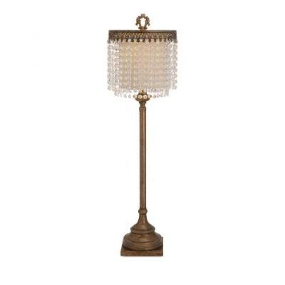 Maeveen Crystal Beaded Table Lamp - 86614