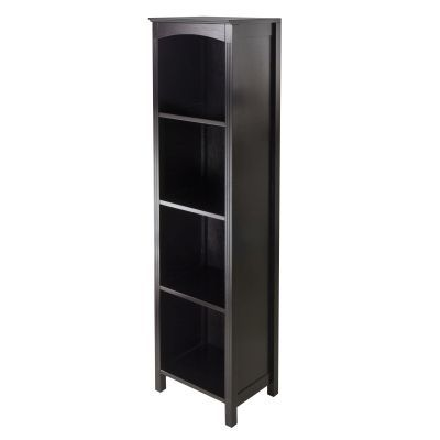 Terrace Storage Shelf / Bookcase 5-Tier in Espresso - 92516