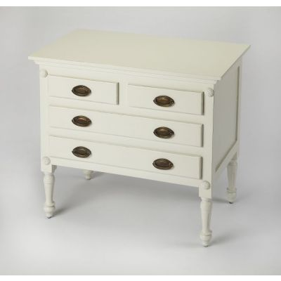 Easterbrook White Drawer Chest - 9306288