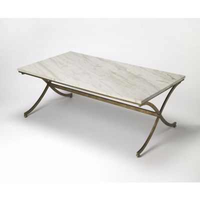 Pamina Travertine Cocktail Table - 9322355