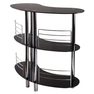 Martini Entertainment Home Bar in Black - 93347