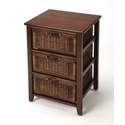 Falmouth Rattan Chairside Chest - 9361398
