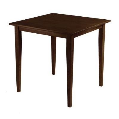 Groveland Square Dining Table In Antique Walnut