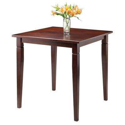 Kingsgate Dining Table Routed with Tapered Leg in Walnut - 94133