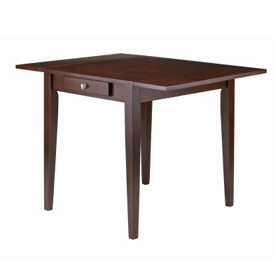 Hamilton Double Drop Leaf Extendable Dining Table in Walnut - 94141