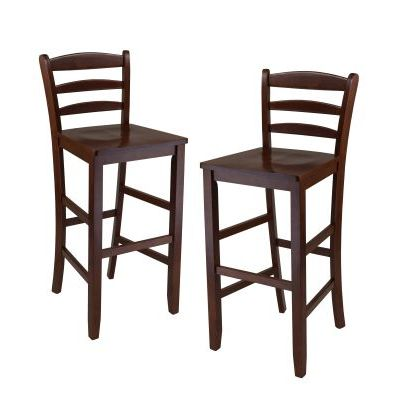 Benjamin Ladder Back 30' Bar Stool Set - 94249