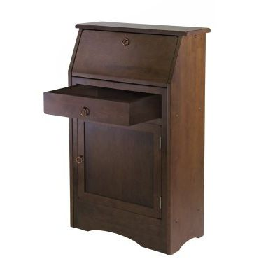 Regalia Secretary Desk Walnut Finish - 94339