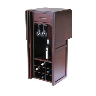 Newport Expandable Counter Home Wine Home Bar - 94350
