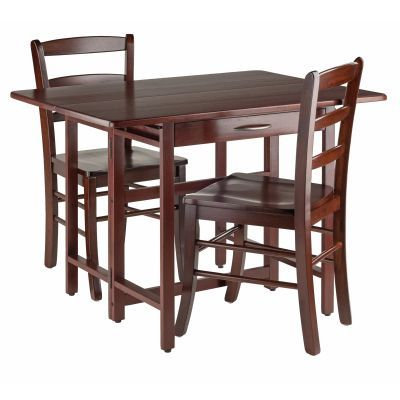 Taylor 3 Piece Set Drop Leaf Table with Chair - 94353