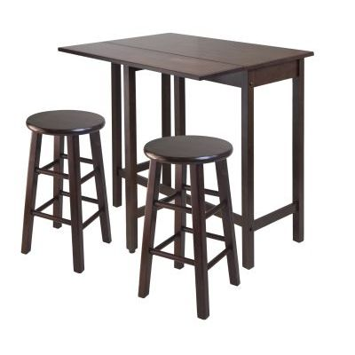 Lynnwood 3 Piece Kitchen Stoneberry Dining Set - 94394