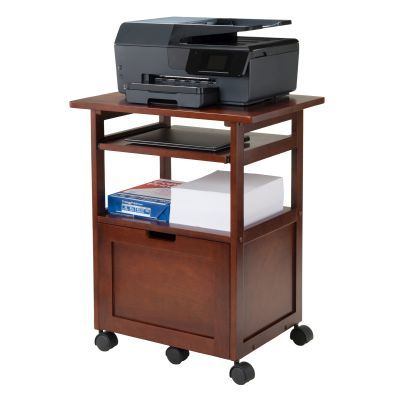 Piper Printer Stand in Walnut - 94427