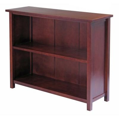 Milan 3 - Tier Shelfin Antique Walnut - 94539