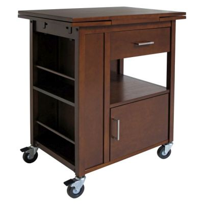 Gregory Kitchen Cart in Walnut - 94643