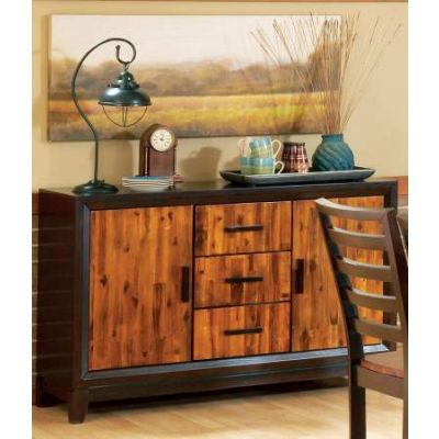 Abaco Buffet Sideboard in Cherry and Mahogany - AB450SB