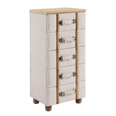 Sarah Five Drawer Padded Chest Cabinet - AC105ALM01U