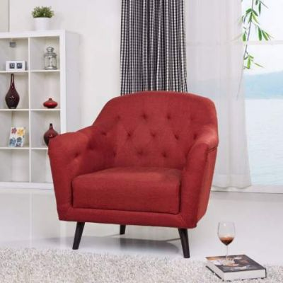 Aurora Arm Chair in Red - ADC-AUR-CHA-NLX-RED