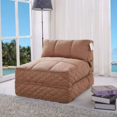 Austin Bean Bag Chair Bed in Cobblestone - ADC-AUS-BCB-CCX-COB