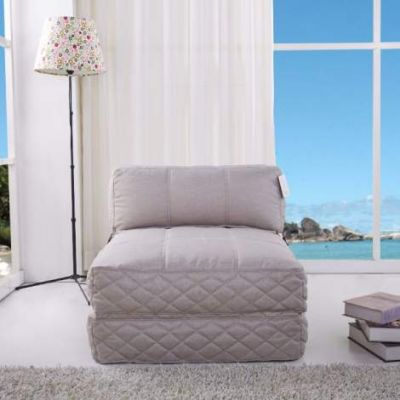 Austin Bean Bag Chair Bed in Latte - ADC-AUS-BCB-NMX-LAT