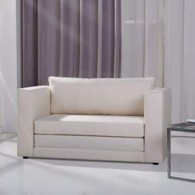 Corona Convertible Loveseat Sleeper in Beige - ADC-COR-CLS-NMX-BEI