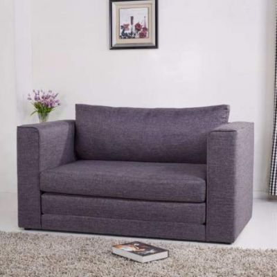 Corona Convertible Loveseat Sleeper in Dark Gray - ADC-COR-CLS-NMX-GRA