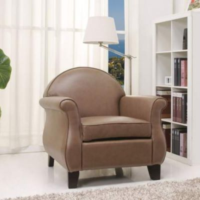 Fresno Arm Chair in Taupe - ADC-FRE-CHA-FBX-TAU