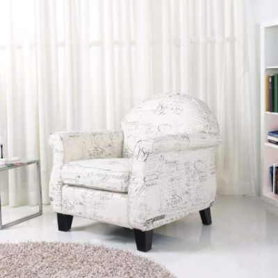 Fresno Arm Chair in Vintage Print - ADC-FRE-CHA-HAX-VIN