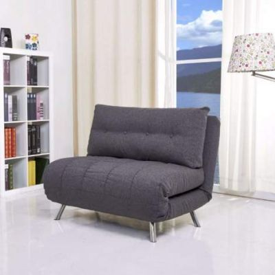 Tampa Convertible Big Chair Bed in Gray - ADC-TAM-CCB-NIX-GRA